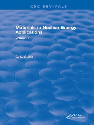 cover image of Materials in Nuclear Energy Applications