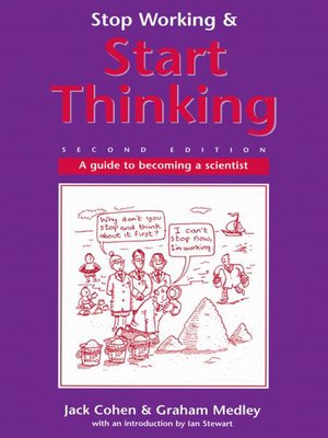 cover image of Stop Working & Start Thinking