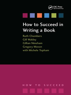 cover image of How to Succeed in Writing a Book