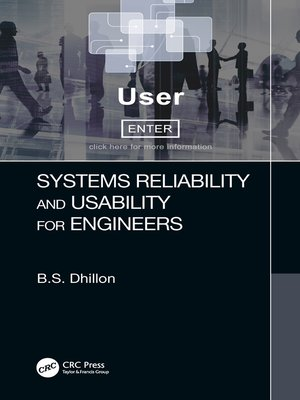 cover image of Systems Reliability and Usability for Engineers