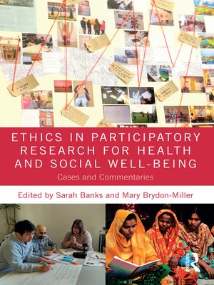cover image of Ethics in Participatory Research for Health and Social Well-Being