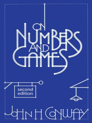cover image of On Numbers and Games