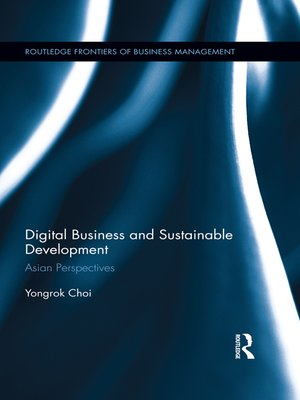 cover image of Digital Business and Sustainable Development