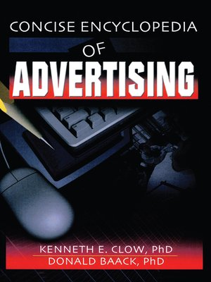 cover image of Concise Encyclopedia of Advertising