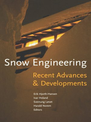 cover image of Snow Engineering 2000