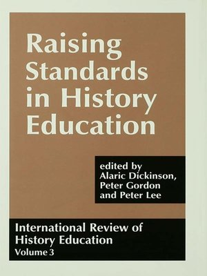 cover image of International Review of History Education