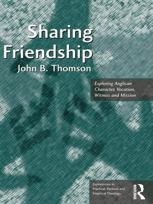 cover image of Sharing Friendship
