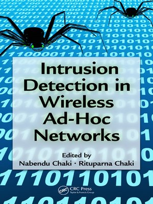 cover image of Intrusion Detection in Wireless Ad-Hoc Networks