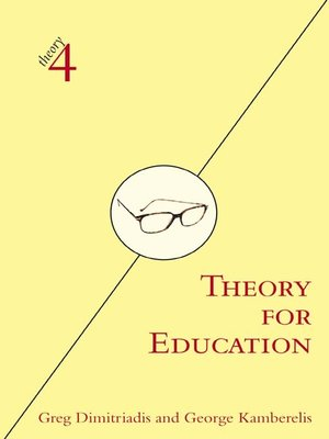 cover image of Theory for Education