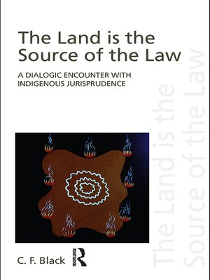 cover image of The Land is the Source of the Law