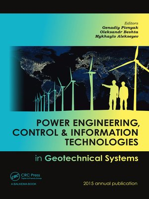 cover image of Power Engineering, Control and Information Technologies in Geotechnical Systems