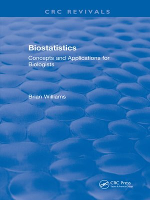 cover image of Biostatistics