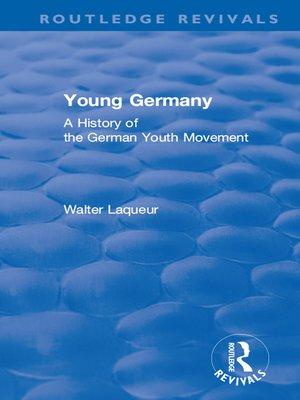 cover image of Young Germany (1962): A History of the German Youth Movement
