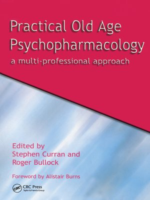 cover image of Practical Old Age Psychopharmacology
