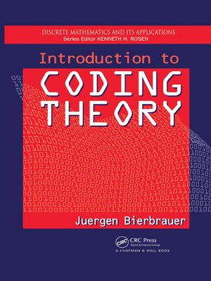 cover image of Introduction to Coding Theory