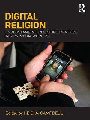 cover image of Digital Religion