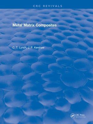 cover image of Metal Matrix Composites
