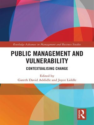 cover image of Public Management and Vulnerability