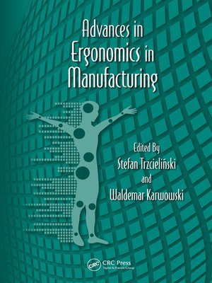 cover image of Advances in Ergonomics in Manufacturing