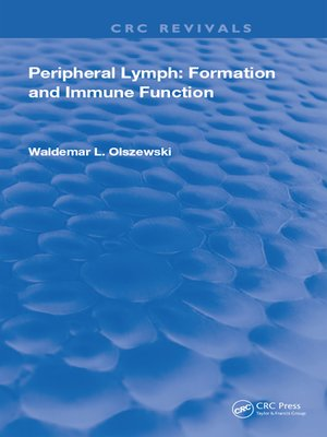 cover image of Peripheral Lymph