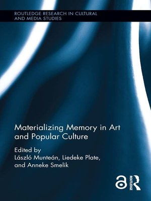 cover image of Materializing Memory in Art and Popular Culture