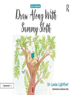 cover image of Draw-along Sammy Sloth