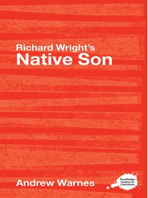 a comparison of the struggles of young black men to manhood in richard wrights native son and the ma Between the world and me is an exquisite book,  what about all those young men and women in the streets of ferguson,  in notes of a native son,.