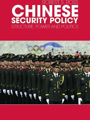 cover image of Chinese Security Policy