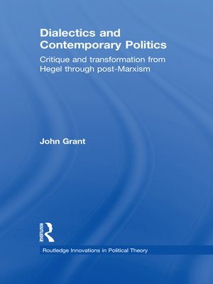 cover image of Dialectics and Contemporary Politics