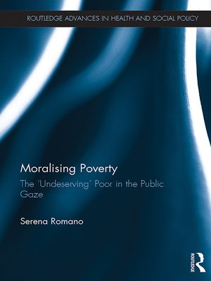 cover image of Moralising Poverty