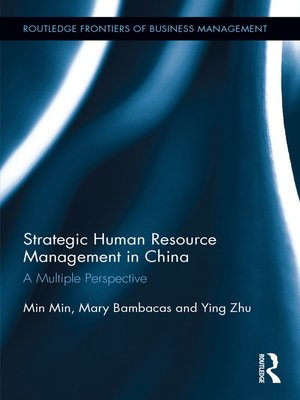 cover image of Strategic Human Resource Management in China