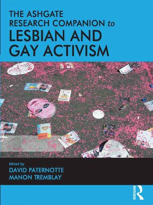 cover image of The Ashgate Research Companion to Lesbian and Gay Activism
