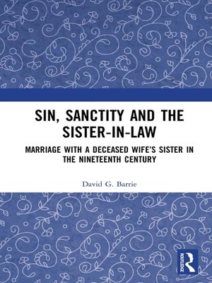 cover image of Sin, Sanctity and the Sister-in-Law