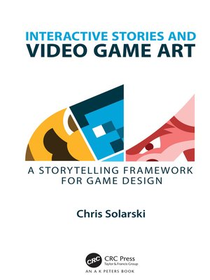 cover image of Interactive Stories and Video Game Art