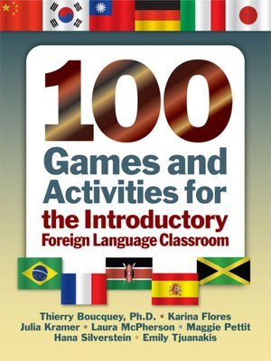 cover image of 100 Games and Activities for the Introductory Foreign Language Classroom