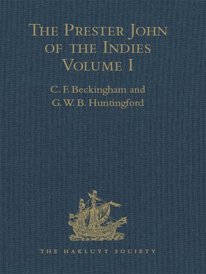 cover image of The Prester John of the Indies