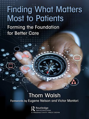 cover image of Finding What Matters Most to Patients