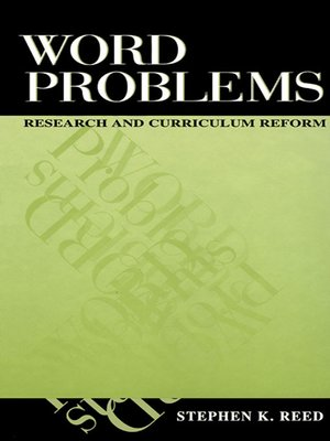 cover image of Word Problems