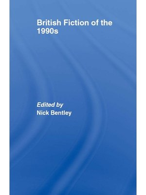 cover image of British Fiction of  the 1990s