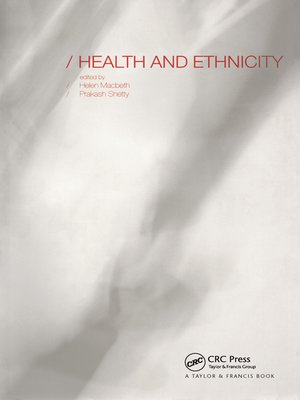 cover image of Health and Ethnicity