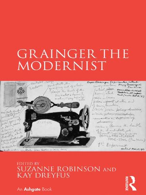 cover image of Grainger the Modernist