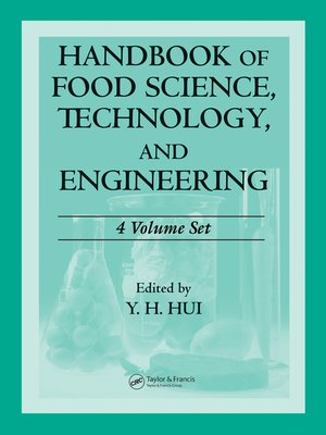 cover image of Handbook of Food Science, Technology, and Engineering--4 Volume Set