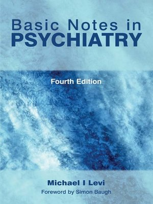 cover image of Basic Notes in Psychiatry