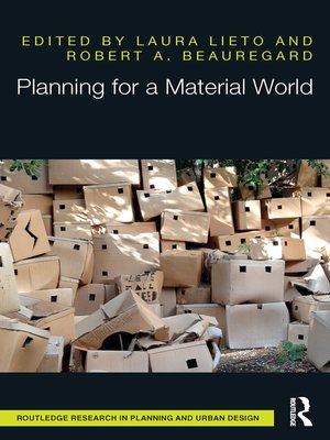 cover image of Planning for a Material World