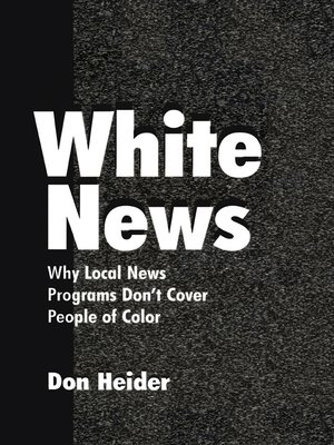 cover image of White News