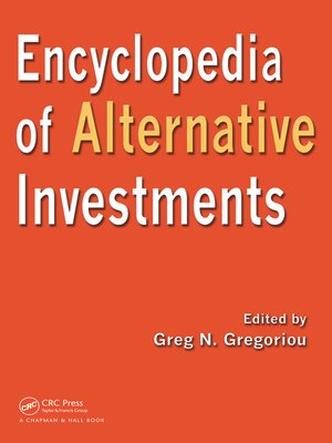 cover image of Encyclopedia of Alternative Investments