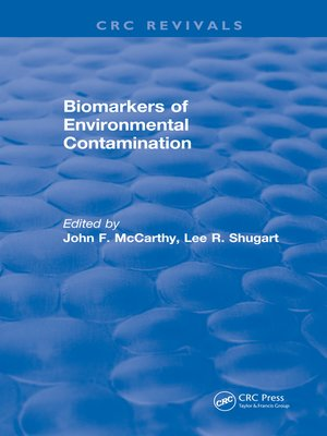 cover image of Biomarkers of Environmental Contamination