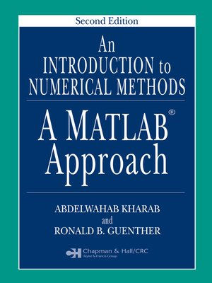 cover image of An Introduction to Numerical Methods