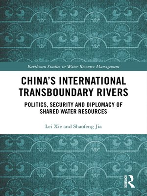 cover image of China's International Transboundary Rivers