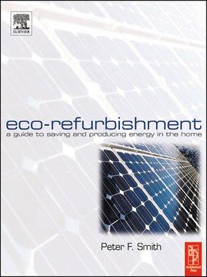 cover image of Eco-Refurbishment
